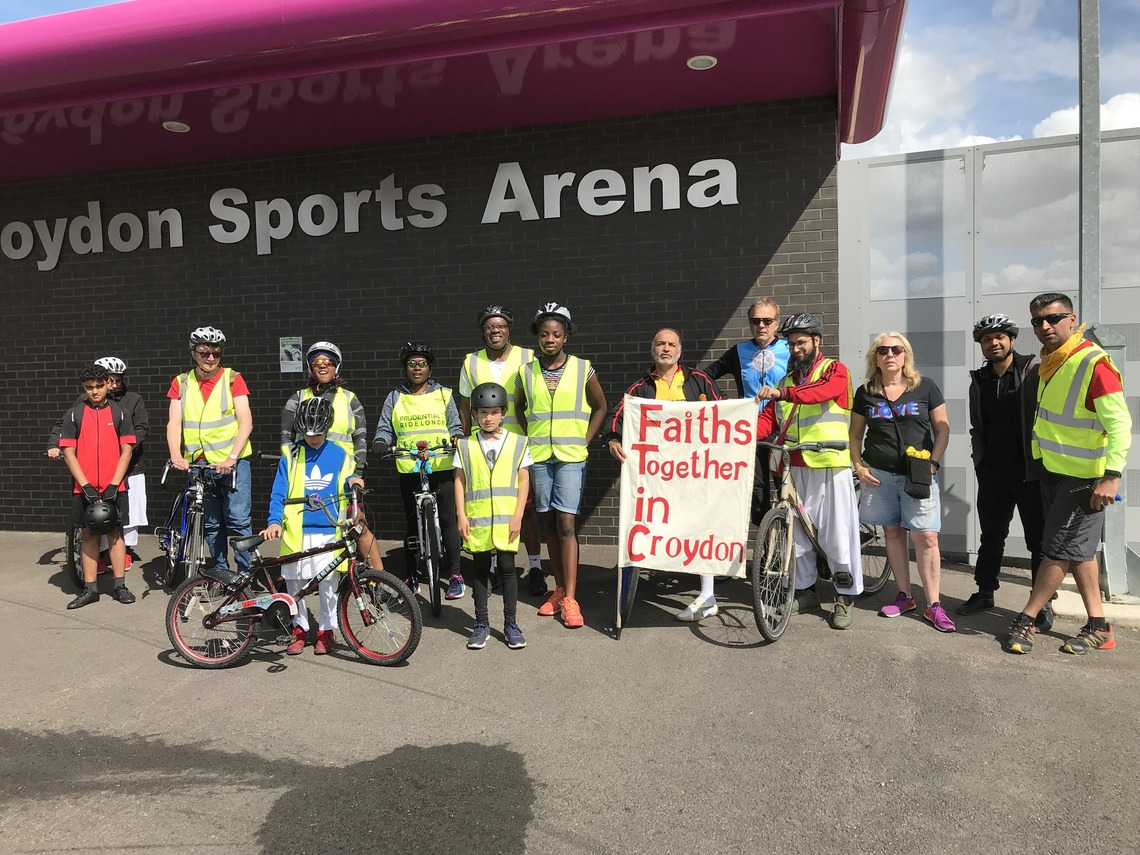 FTiC's 2019 Bike Ride starting from Croydon Arena