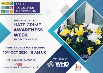 Lanch of Hate Crime Awareness Week 1
